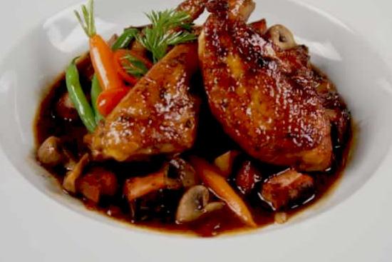 Chicken burgundy chicken burgundy recipe chef de cuisine for Tapis de cuisine salt pepper