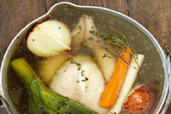 Chicken Pot Au Feu With Carrots Potatoes And Leeks Chicken Pot Au