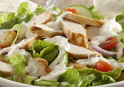 Parmesan And Basil Chicken Salad Recipes — Dishmaps