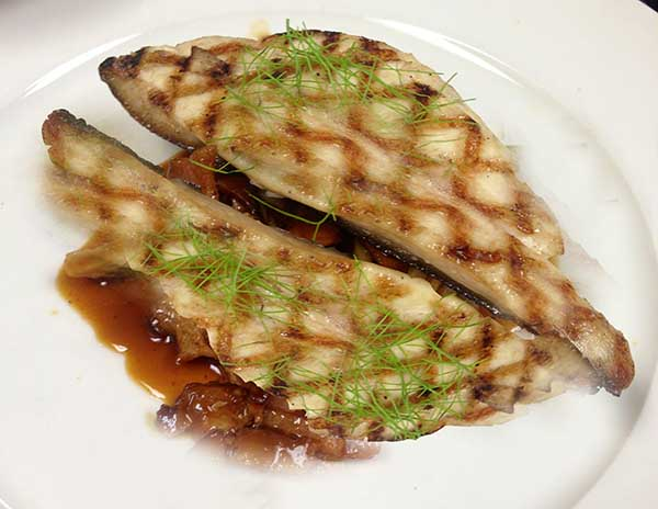 Grilled pompano with tangy ginger sauce grilled pompano for Pompano fish recipes