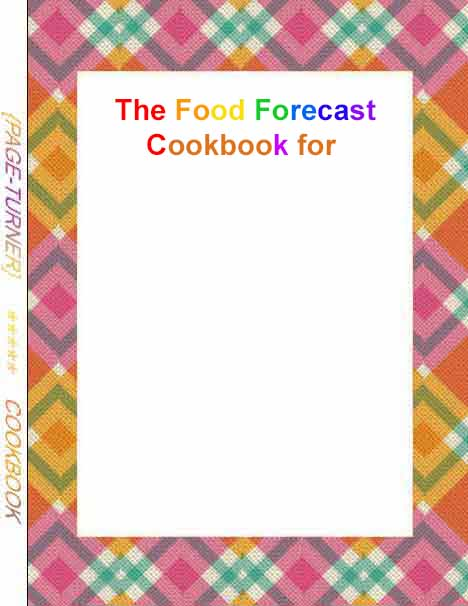 Weather Forecast page turner cookbook